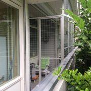 Kattenren balkon